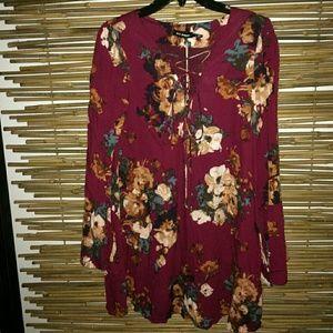 New, floral dress